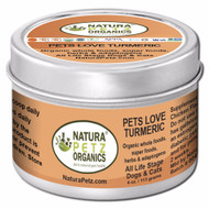 Natura Petz Organics Pets Love Turmeric - Antioxidant and Immune Health Promoting Nutritional Meal Topper * for DOG & CATS