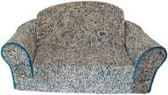 Boho Blue Pull Out Pet Sleeper Sofa Bed
