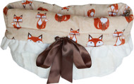 Foxy Reversible Snuggle Bugs Pet Bed, Carrier Bag, and Car Seat All-in-One