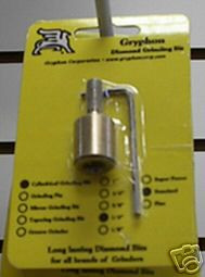 "Gryphon 1/4"" Standard Grinder Bit Stained Glass Supplies"