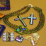 Dichroic Fused Jewelry Two