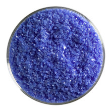 Bullseye Glass Cobalt Blue Opal, Frit, Medium, 5 oz jar 000114-0002-F-OZ05
