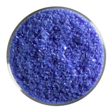 Bullseye Glass Cobalt Blue Opal, Frit, Medium, 5 oz jar 000114-0002-F-OZ05