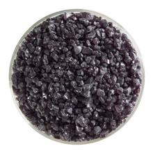 Bullseye Glass Charcoal Gray Transparent, Frit, Coarse, 5 oz jar 001129-0003-F-OZ05