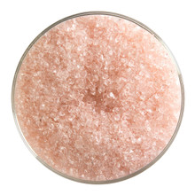 Bullseye Glass Coral Orange Transparent Tint, Frit, Medium, 5 oz jar 001834-0002-F-OZ05