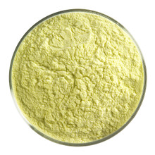 Bullseye Glass Canary Yellow Opal, Frit, Powder, 1 lb jar 000120-0008-F-P001