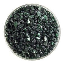 Bullseye Glass Aventurine Green Transparent, Frit, Coarse, 1 lb jar 001112-0003-F-P001