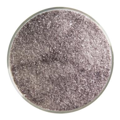 Bullseye Glass Charcoal Gray Transparent, Frit, Fine, 1 lb jar 001129-0001-F-P001
