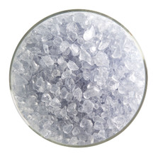 Bullseye Glass Gray Blue Transparenet, Frit, Coarse, 1 lb jar 001864-0003-F-P001