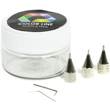 About Color Line Color Line Pens contain ready to use enamels for glass or ceramics in a fantastic range of intense colours. For painting, airbrushing, screen printing, and more!