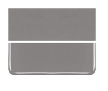 Bullseye Glass Deco Gray, Dbl-rolled 000136-0030-F-1010