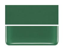 Bullseye Glass Dark Forest Green, Dbl-rolled 000141-0030-F-1010
