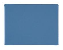Bullseye Glass Dusty Blue, Dbl-rolled 000208-0030-F-1010