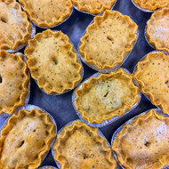4 x Hand made pies - £12