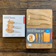 Kikkerland Cheese Boards & Knives