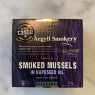 Smoked Mussels in Rapeseed Oil 125g