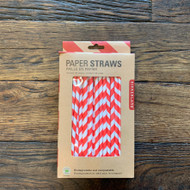 Kikkerland Paper Straws (144 Pieces)