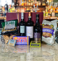 Red wine Father's Day hamper