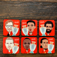 Prem LFC Cork Backed Coasters