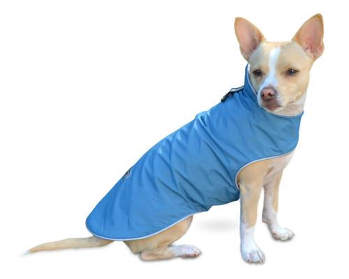 Lightweight, All Weather Dog Slicker Sapphire Blue