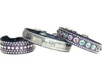 Milano Jewels + Studs Dog Collars