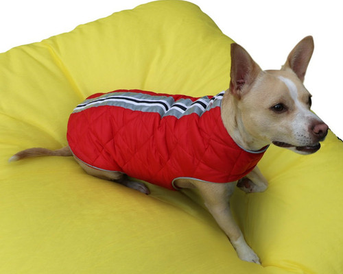 Cherry Red Cascadia Puffa Vest