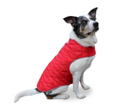 Cherry Red Cascadia Puffa Vest