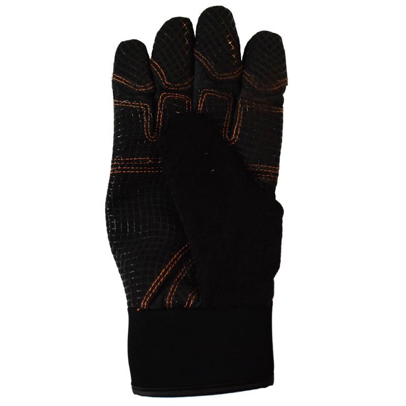 Hammer Lane Multipurpose Mens Trucker Gloves Orange Back