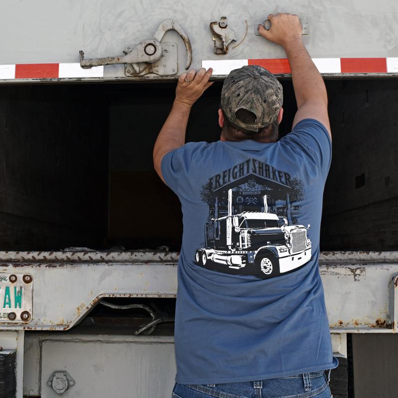 FreightShaker Hammer Lane T-Shirt On Model