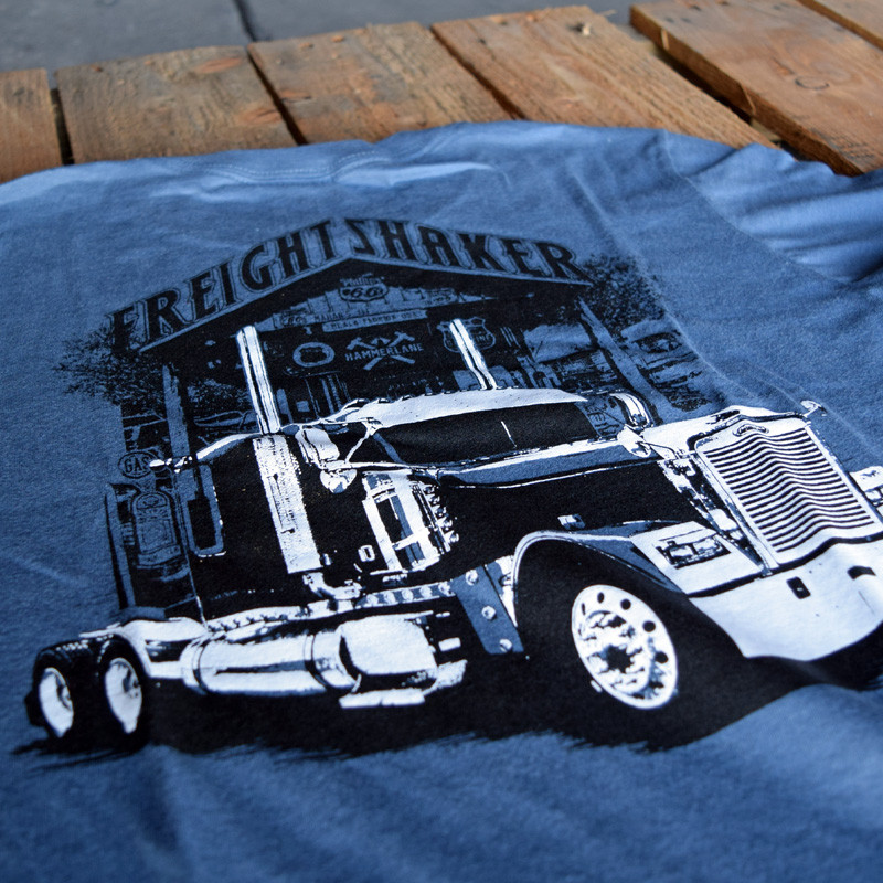 FreightShaker Hammer Lane T-Shirt Close Up