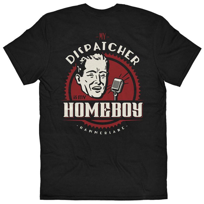 Dispatcher Hammer Lane T-Shirt Back