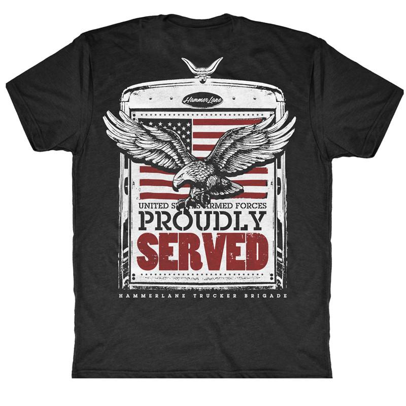 Veterans Hammer Lane T-Shirt Black