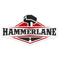 "Hammer Lane 4"" Sticker"