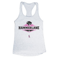 Hammer Lane Breast Cancer Awareness Ladies Tank Top