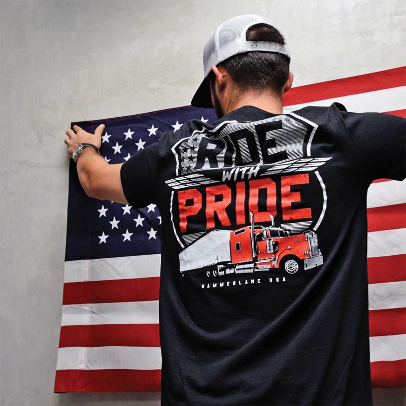 Pride 2.0 Hammer Lane T-Shirt On Model