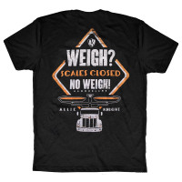 No Weigh 2.0 AK Series Hammer Lane Trucker T-Shirt Back