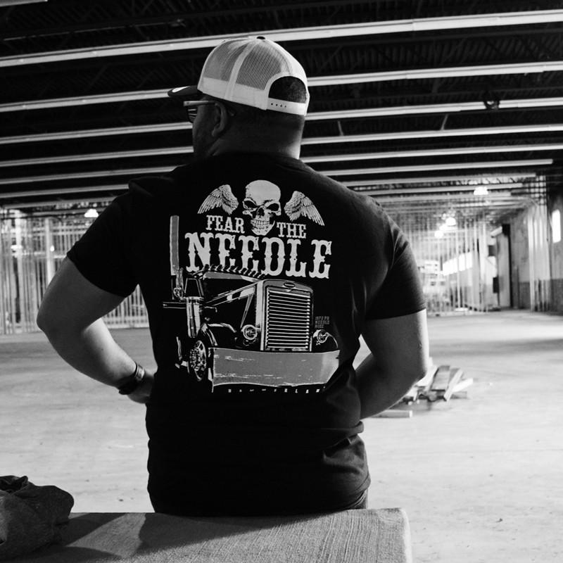 Fear The Needle Hammer Lane T-Shirt Back