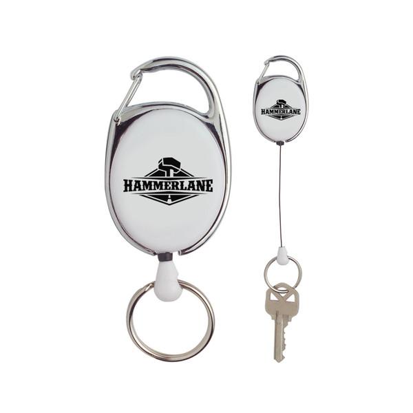 Hammer Lane Retractable Key Ring