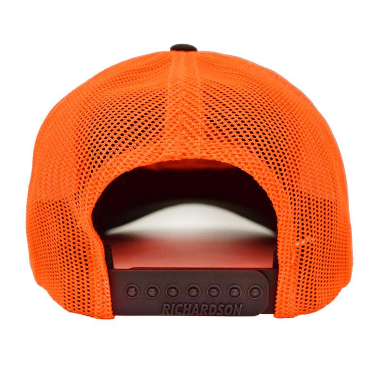 Snapback Neon Orange Hammerlane Trucker Hat Back