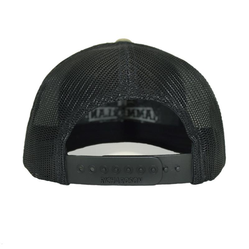 Snapback Army Green Hammerlane Trucker Hat Back