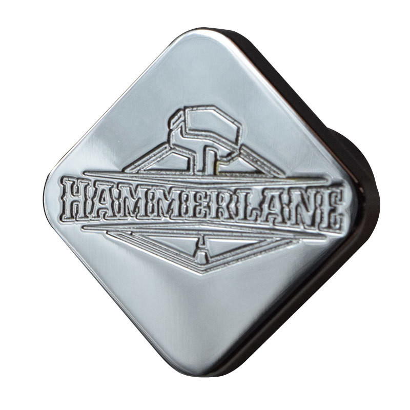 Engraved Hammerlane Tractor Trailer Air Brake Knob Square