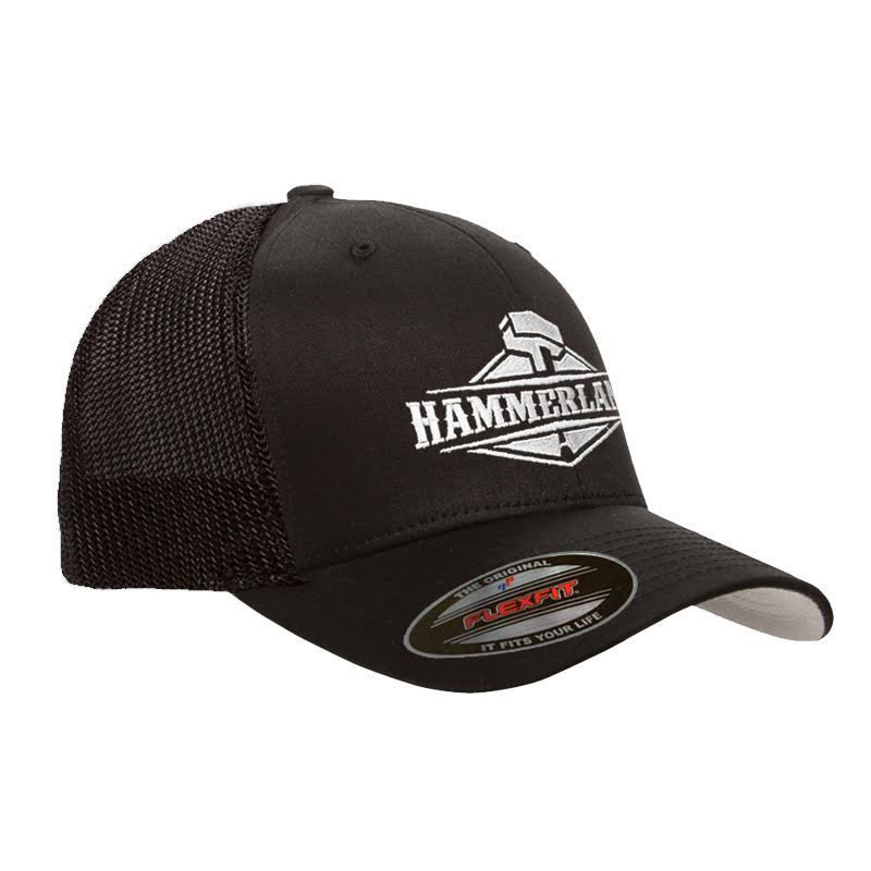 Mesh Black Hammer Lane Hat
