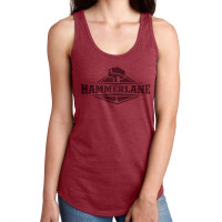 Ladies Hammer Lane Logo Tank Top Red