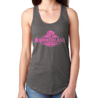 Ladies Hammer Lane Logo Tank Top Dark Grey