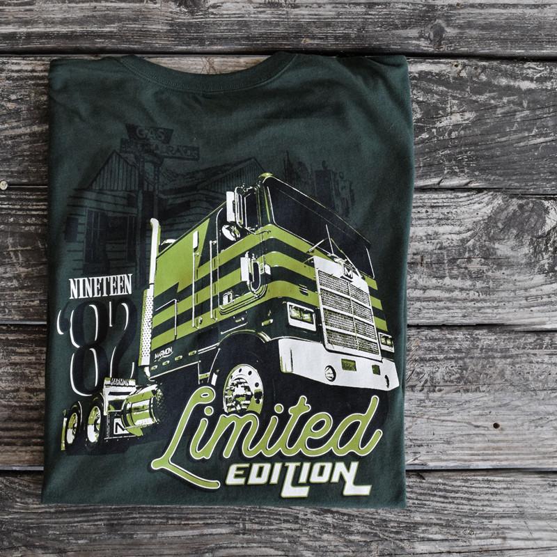 Limited Edition Hammer Lane Trucker T-Shirt On Pallet