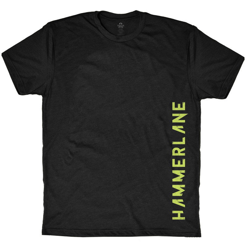 Hammer Lane Vertical Green Logo T-Shirt
