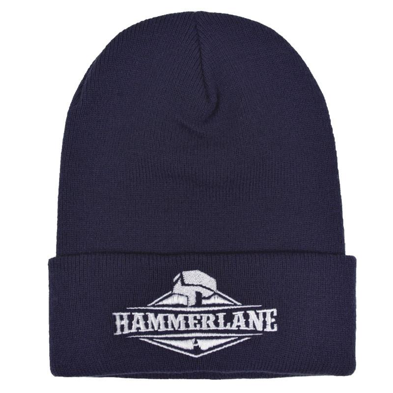 Original Hammer Lane Logo Beanie Navy