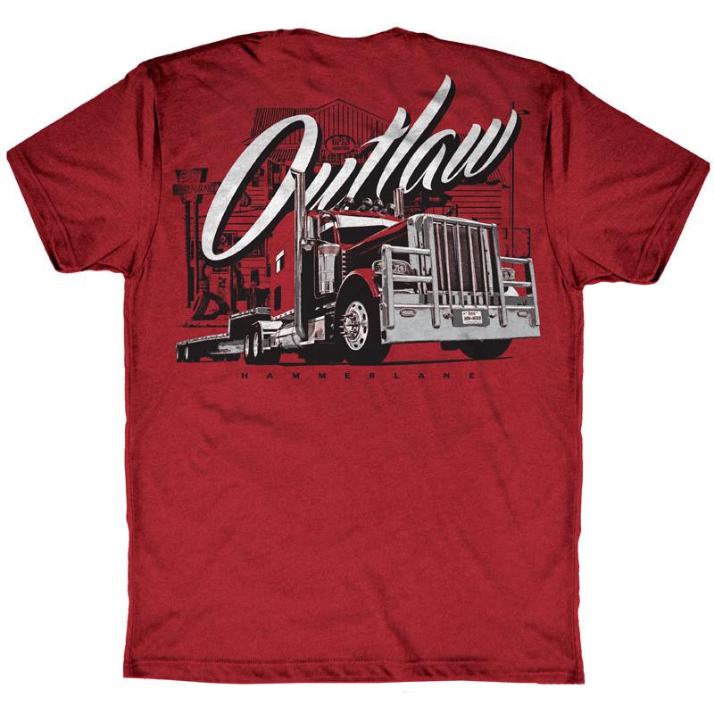 Outlaw Hammer Lane Short Sleeve T-Shirt Back