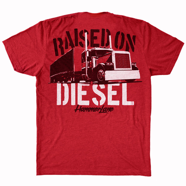 Raised On Diesel Hammer Lane T-Shirt