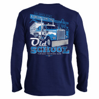 Old School Hammer Lane Long Sleeve T-Shirt Back